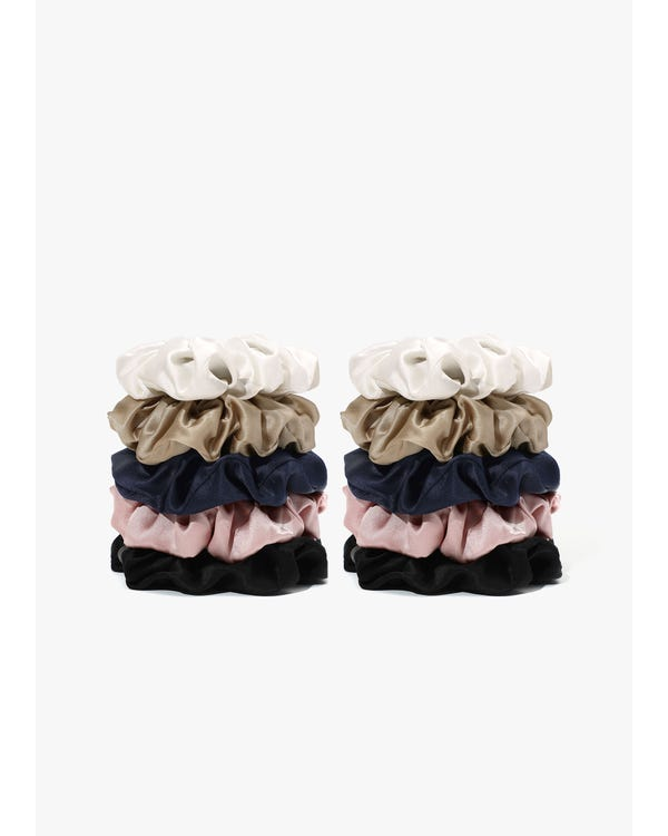 Soft Silk Medium Scrunchie-hover