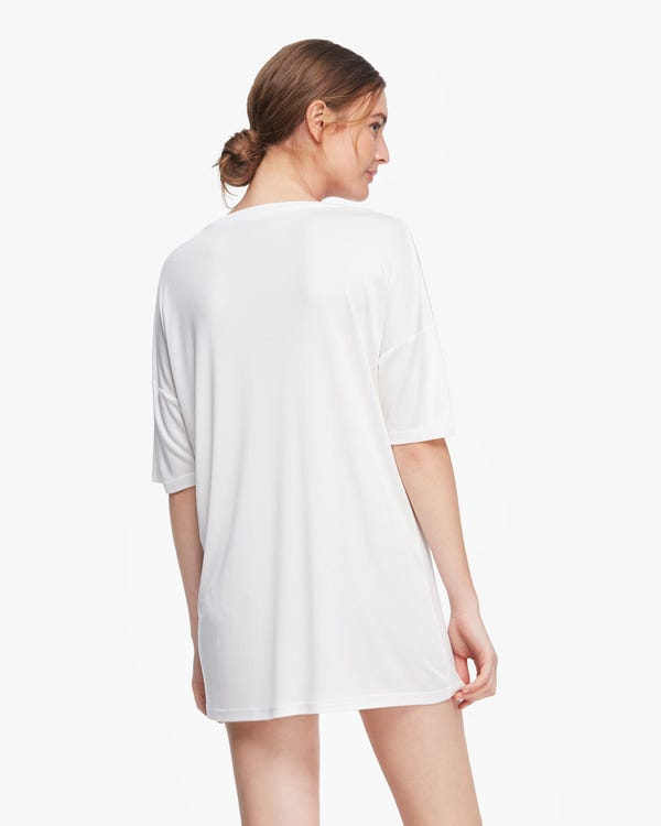 Essential Breathable Silk Loose Tee-hover