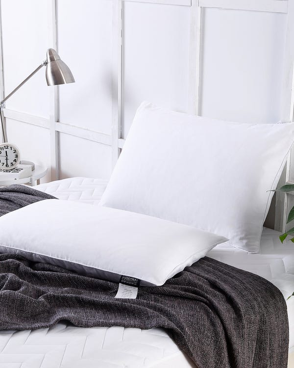Cotton Covered Silk Pillow-hover