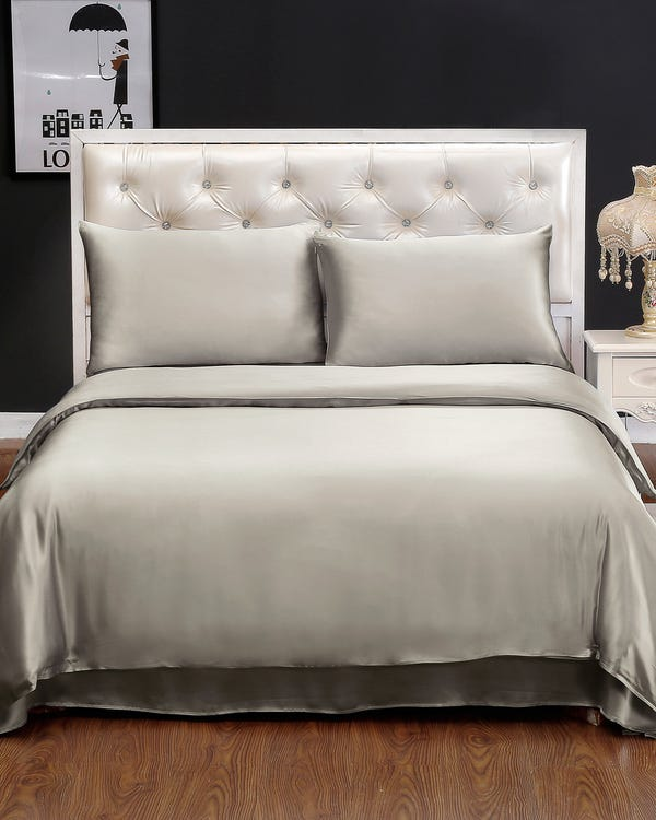 19MM 4PCS Silk Bedding Set