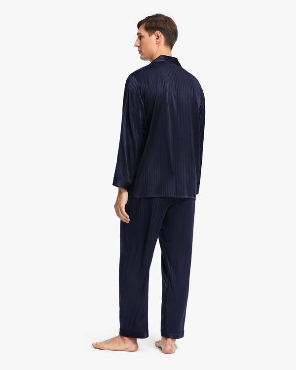 Pijamas Seda Estirable para Hombre-hover