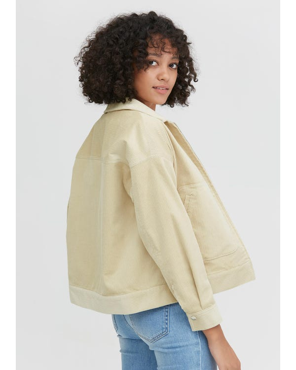 Braderie Classic Long Sleeve Corduroy Jacket XS-hover