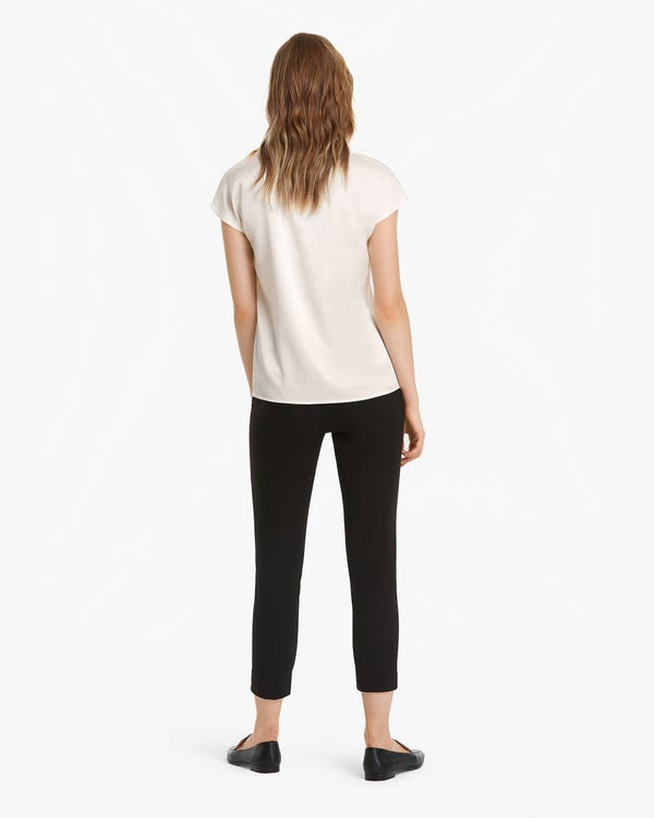Pure Mulberry Silk Summer Blouse-hover