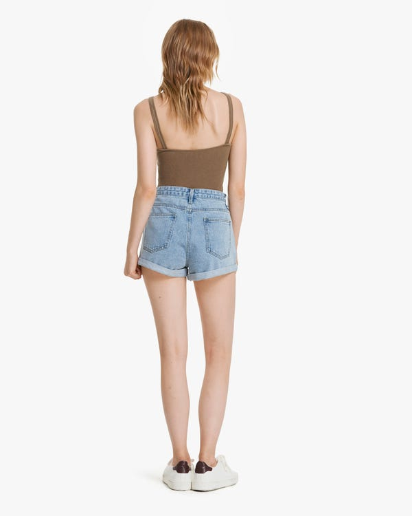Everyday Knitted Silk Camisole Top-hover