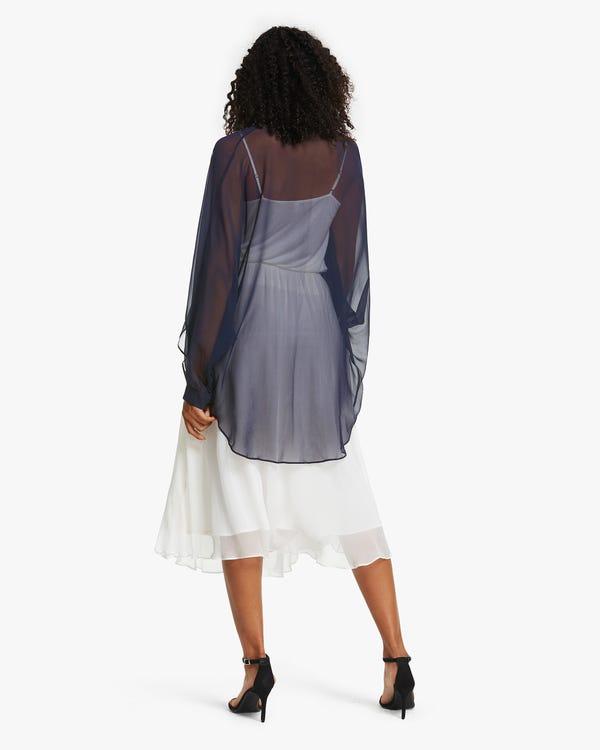 Seide Tüll-Jacke für Damen-hover