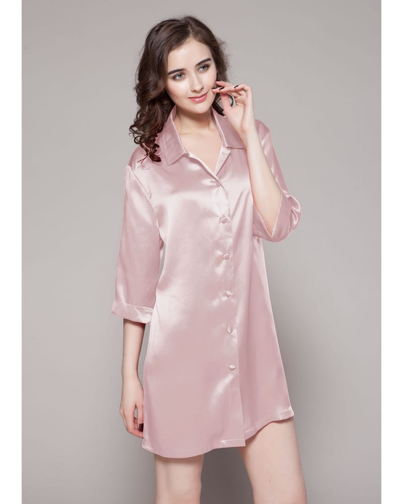 22 Momme Classic Silk Nightshirt