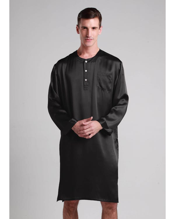 22 Momme Mens Silk Nightshirt