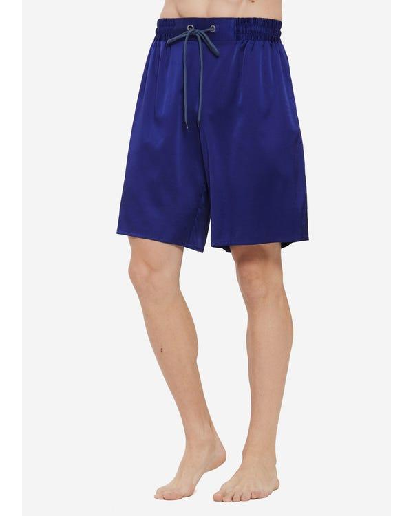 Comfortable Silk Lounge Shorts For Men