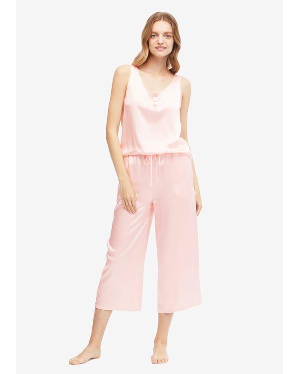 22 Momme Gemakkelijke Zijden Jumpsuit Pyjama