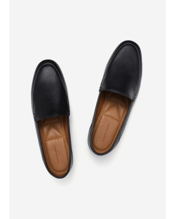 The Loafers Black-leather 65