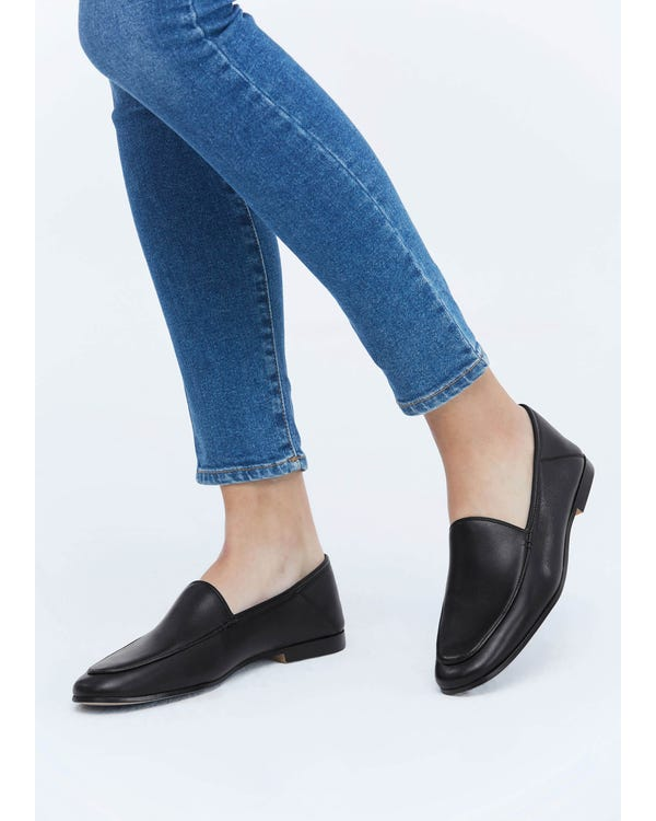 Loafers Black-leather 65-hover