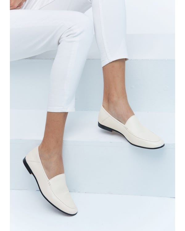 The Loafers natural-white-leather 85-hover