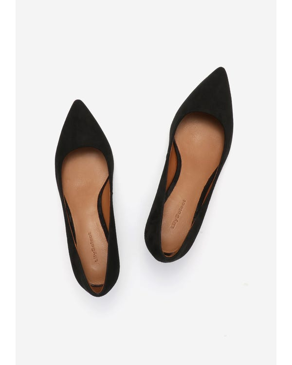 The Pumps Black-leather 85