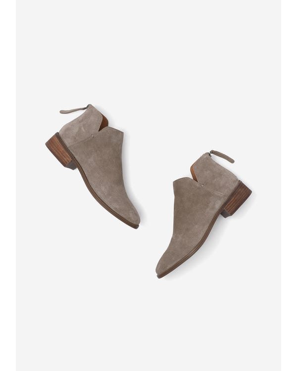 The Suede Boots Camel 85