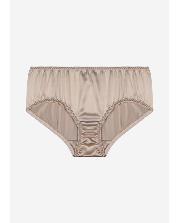 Classic Feminine Silk Bikini Panties