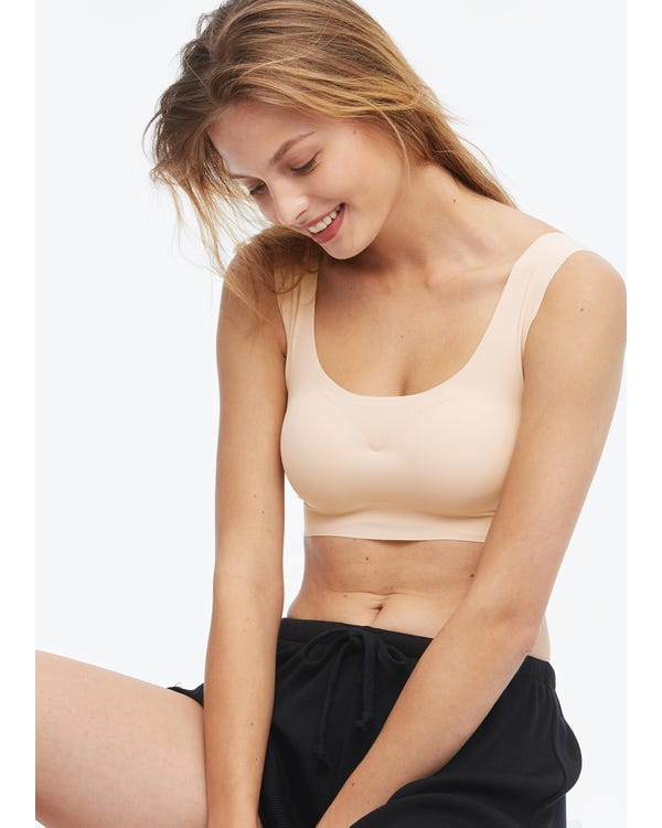 Sports Seamless Silk Bra Vest