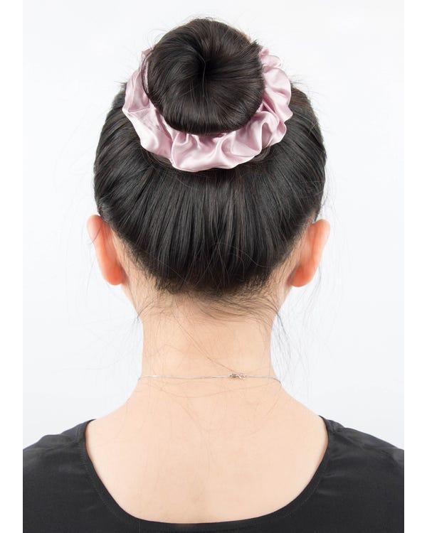 Flower Silk Hair Scrunchy