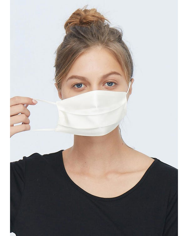 Cozy Pure Silk Gauze Mask