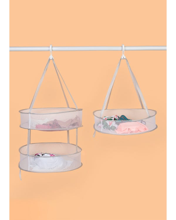 Multi-use Hanging Laundry Drying Basket