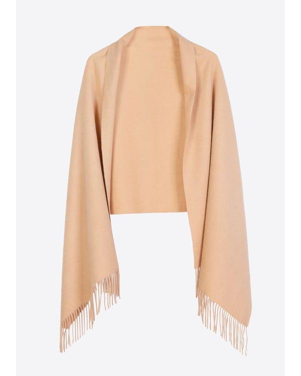 Warmer weicher Schal aus reiner Wolle