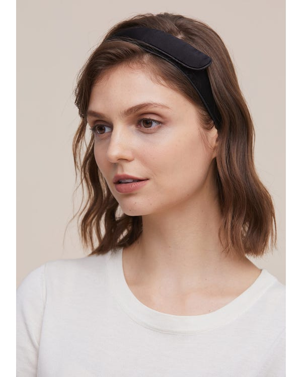 Velcro Adjustable Silk Headband