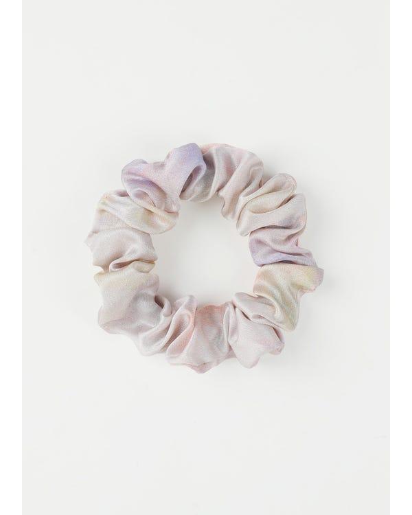4 Pack Tie dye Silk Scrunchies Set