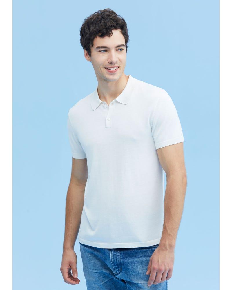 Comfy Silk Polo Shirt For Men
