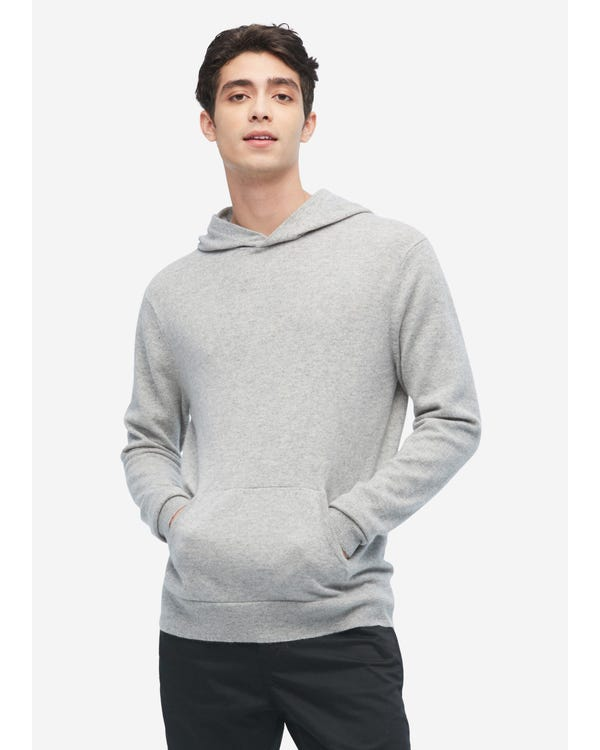 Cashmere Pullover Hoodie For Men
