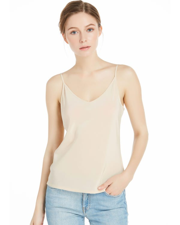 Shifting Sand Basic Silk Camisole Shifting Sand XXL-hover
