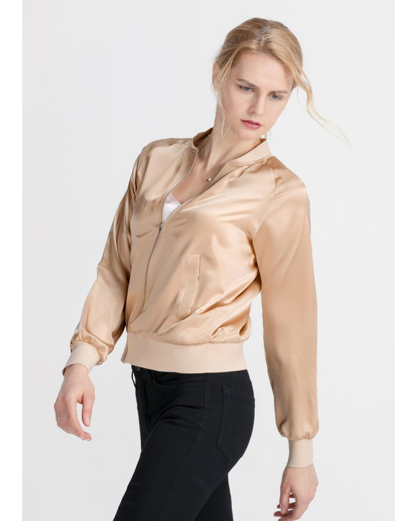 Insanely Comfortable Silk Jacket