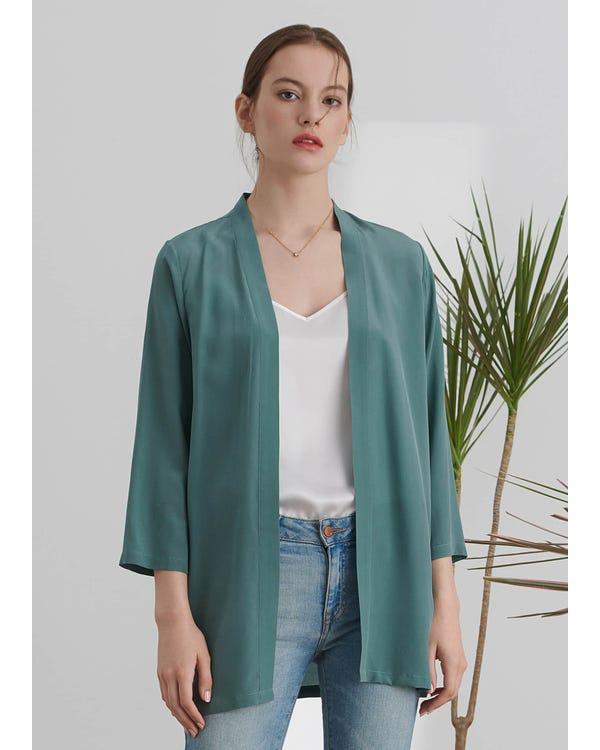 Easy Matching Silk Kimono