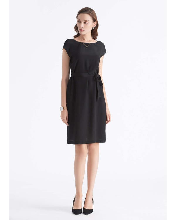 Basic Silk LBD Wearable Front and Back Black XXL-hover