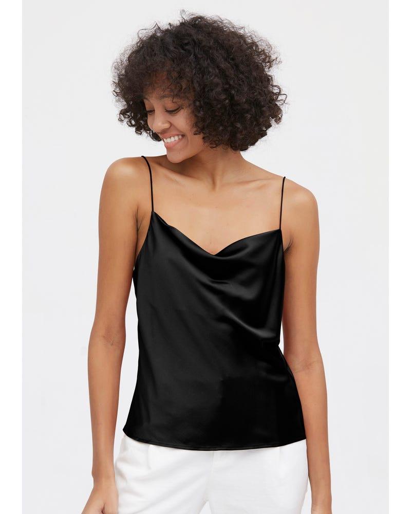 Stylish Comfy Cowls Silk Camisole