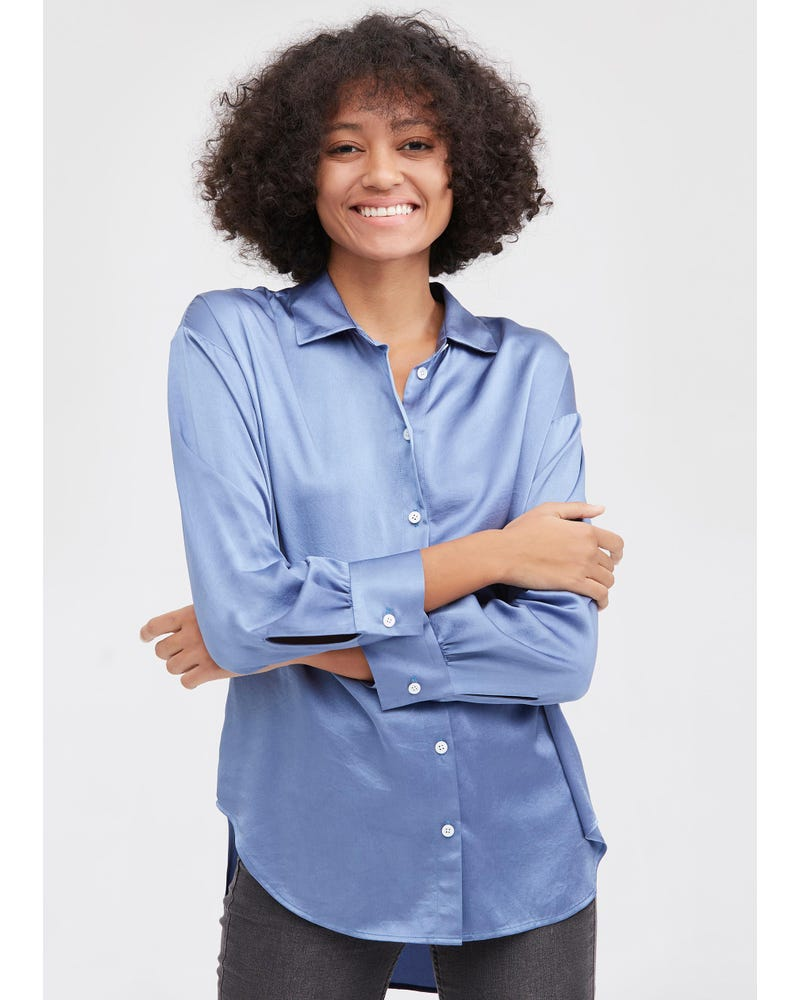 Basic Blouse In Casual Stijl