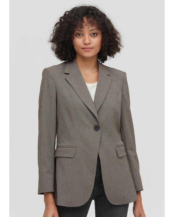 Classic Business Casual Blazer in Swallow Gird