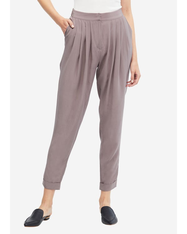 Sand Wash Loose Style Silk Pants