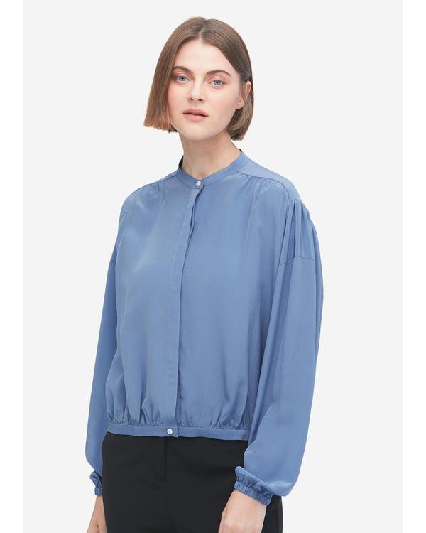 Designer Simple Summer Silk Shirt