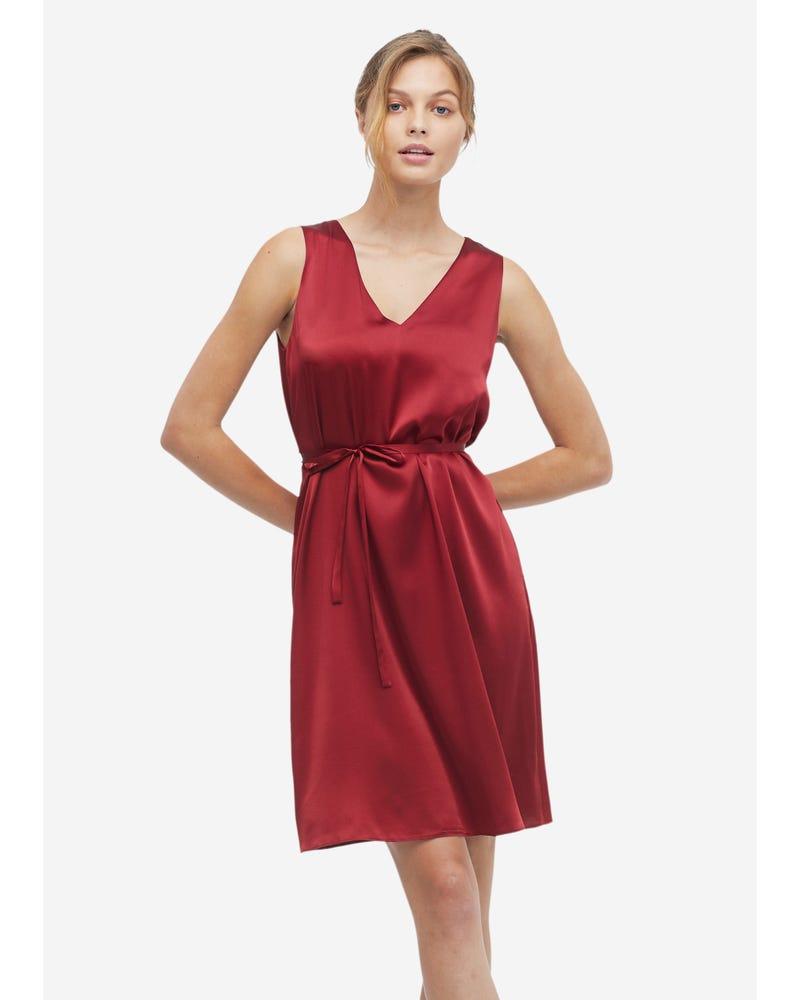 Women Casual Silk Cami Dress