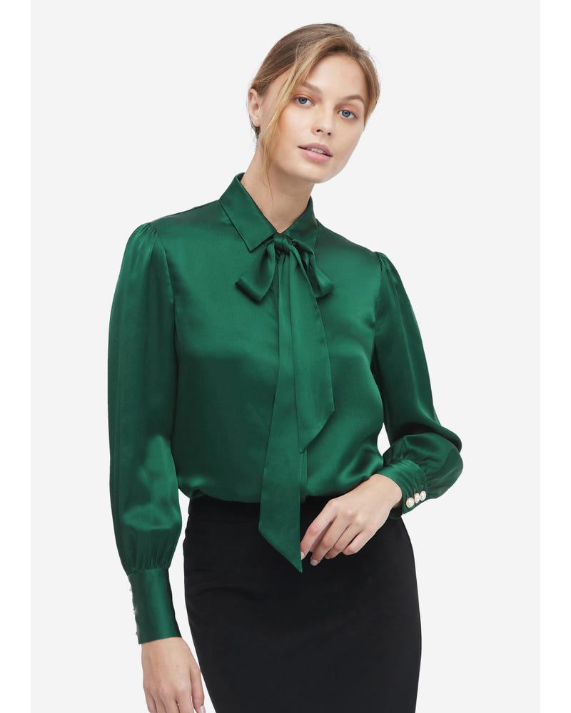 MIM 2 in 1 Silk Shirt