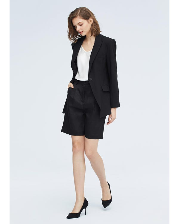 Classic Simple Blazer For Women-hover
