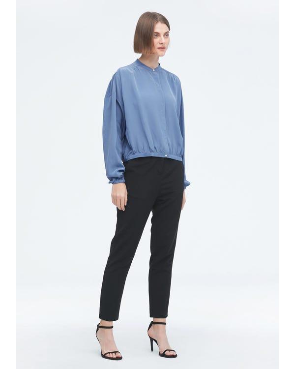 Clearance Designer Simple Summer Silk Shirt M