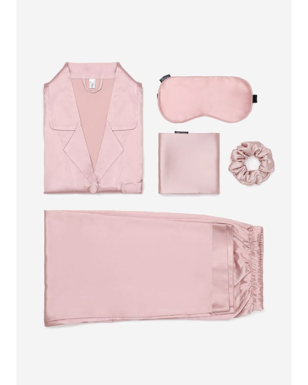 Classic Silk Beauty Sleep Set For Women