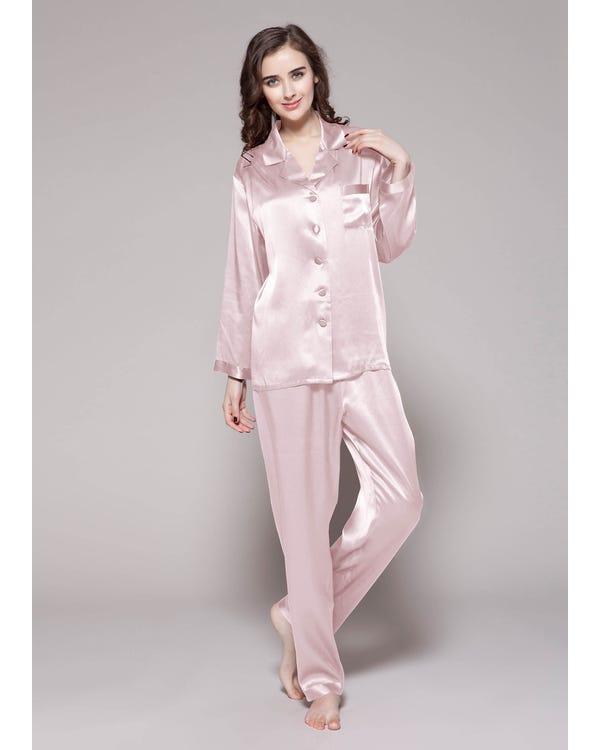 Classic Silk Beauty Sleep Set For Women-hover